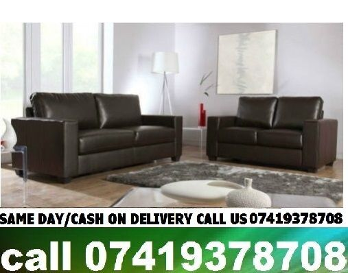 Cheap Price Good Quality Leather 3 2 Seater Sofa Set BlackBrownin East London, LondonGumtree - This contemporary sofa set is all you need to fill your living room with comfort and style, with Wardrobnough room to seat Wardrobveryone. Made from black PVC leather with foam padded arms and wood Wardrobffect feet. This set is made to last being...