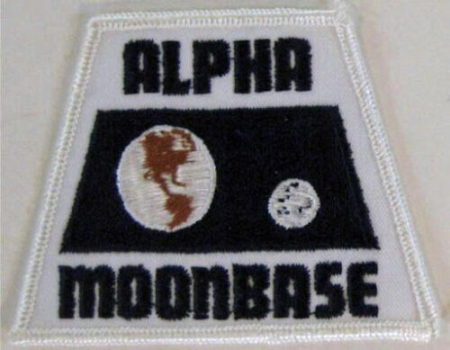 Space 1999 Alpha Moonbase Embroidered Patch - New
