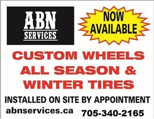 Winter Tires Changed Over / Installed Kawartha Lakes Peterborough Area image 1