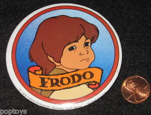 FRODO-78-vtg-movie-BUTTON-Lord-of-the-Rings-Bakshi-animated