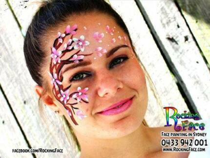 Kids Face Painting and balloon Twisting : RockingFace Sydney City Inner Sydney Preview