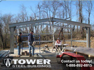 All Steel Straight Wall Buildings!