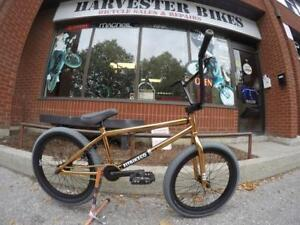 "BRAND NEW FIT BMX BIKES @ Harvester Bikes 1 YEAR FREE TUNEUP"" Ad"
