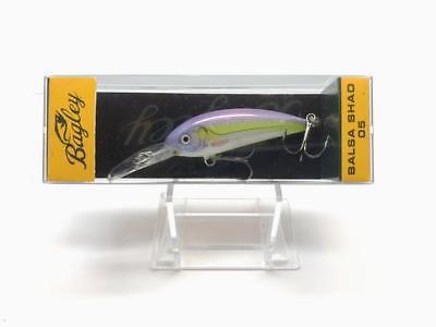 Silver Flo Chartreuse NEW Bagley Balsa Shad BS05-SFC