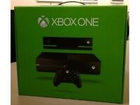 Xbox one excellent condition with one controller, kinect and 3 games: