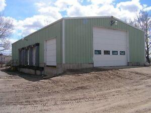 Vulcan AB Shop & Fenced Yard