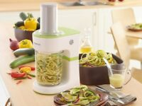 Spiralizer Kenwood Never Used For Carrots, Cucumbers, Squash or Courgette and More