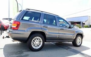 2001 Jeep Grand Cherokee WG MY2002 Limited Grey 4 Speed Automatic Wagon Woodridge Logan Area Preview