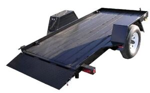 Trailer plate-forme basculant