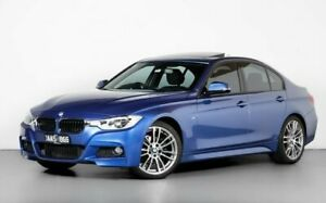 2013 BMW 320i F30 MY0813 320i Blue 8 Speed Sports Automatic Sedan Port Melbourne Port Phillip Preview