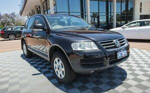 2005 Volkswagen Touareg 7L MY05 4XMotion Black 6 Speed Sports Automatic Wagon Alfred Cove Melville Area Preview