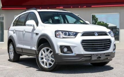 2017 Holden Captiva CG MY18 Active 2WD Silver 6 Speed Sports Automatic Wagon