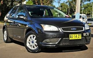 2008 Ford Focus Black Manual Hatchback North Gosford Gosford Area Preview