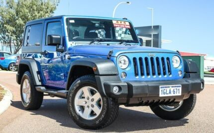 2015 Jeep Wrangler JK MY2016 Sport Blue 5 Speed Automatic Softtop