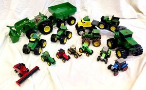 Toy tractor set