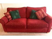 Cosy and comfortable 3 seater and 2 seater sofas