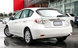 2009 Subaru Impreza MY09 R (AWD) White 4 Speed Automatic Hatchback Wangara Wanneroo Area Preview