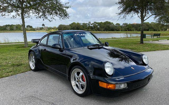 1994 Porsche 911 Turbo 3.6 Coupe 2D 69500 Miles Black