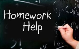 (Cornwall) Tutor/Help: Write Essay, Do Assignment Homework Proje Cornwall Ontario image 1
