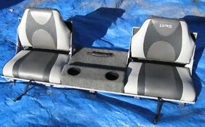 LUND REMOVABLE / FOLDABLE AFT JUMP SEAT / CASTING DECK