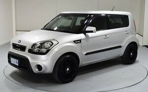 2012 Kia Soul AM MY12 Silver 6 Speed Manual Hatchback Invermay Launceston Area Preview