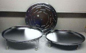 """13"""" Restaurant Style Pizza Pans & Table Servers - NEW"""