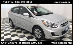 2015 Hyundai Accent GL Hatchback with Heated Seats