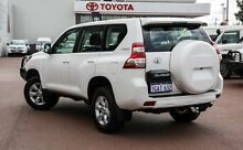 2014 Toyota Landcruiser Prado KDJ150R MY14 GXL White 5 Speed Sports Automatic Wagon Balcatta Stirling Area Preview