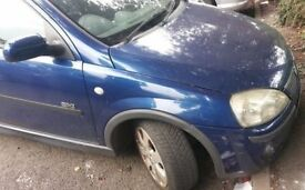 Vauxhall Corsa O/S Headlight (2003)