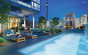 Charlie Condos in Downtown 1+1 den available May 1