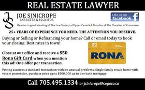 REAL ESTATE LAWYER - Best rates in town