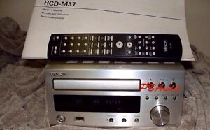 DENON RCD-M37 MINI STEREO RECEIVER CD UNIT ,RARE AND LIKE NEW