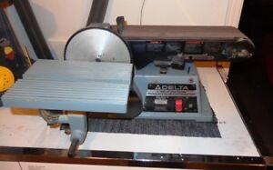 Delta 4 inch belt/ 6 inch disc sander