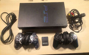 Playstation 2 ( PS2 ) Console + Games - ( Tested )