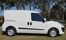 2014 Fiat Doblo 263 Low Roof SWB Comfort-matic White 5 Speed Sports Automatic Single Clutch Van Bundaberg West Bundaberg City Preview