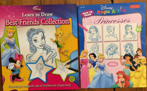 DISNEY DRAWING BOOKS 2 for $10