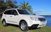 2009 Subaru Forester MY09 X White 4 Speed Auto Elec Sportshift Wagon Mount Lawley Stirling Area Preview