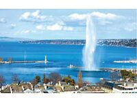 Flights to Geneva from Liverpool 28th July ret 4th August £220 for 3 Adults together