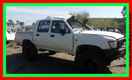 1994 Toyota Hilux STD dual cab WRECKING   suits 91 - 97   A1372