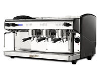 SAVE OVER £1,000 Commercial coffee machine, catering co / cafe, inc grinder, knockout box, sundries.