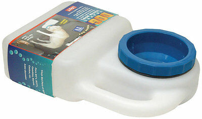 Lixit Dog Bowl Travel Bottle Dispenser Spill Proof Water Park RV Camping 3 QT