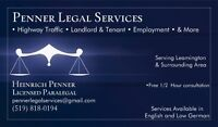 Penner Legal Services (Paralegal)