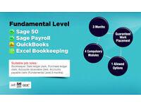 Sage Training/Accounts Assistant training/ Advanced Excel training/Accounting Training/ACCA/ICB/OCR