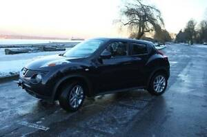 2011 Black Nissan Juke Turbo SL AWD