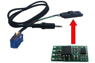 For Audi Radio Rns-E Bns 5.0 Delta 6 Aux IN Adapter Interface MP3 CD Changer
