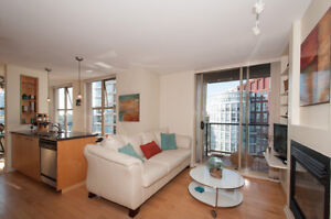 Yaletown/Downtown 1 BEDROOM + DEN AT THE MONDRIAN
