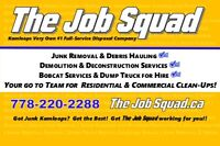 The Job Squad ✔ Rated #1 Best Overall Junk Removal Service ✔