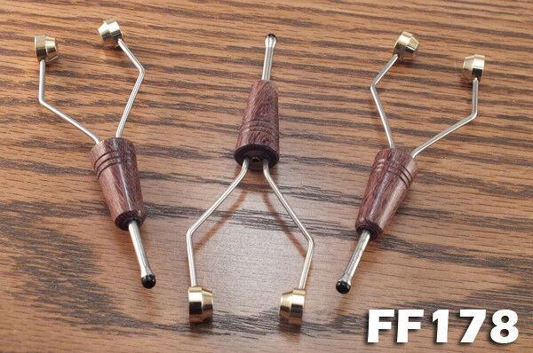 Ceramic Tip Fly Tying  Bobbins Set of 3 Wood Handle Bobbin FF178
