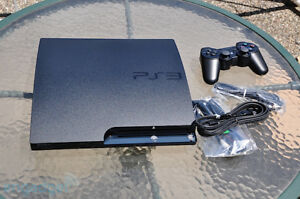 PS3 (Slim Version - 120GB) + A Few Games
