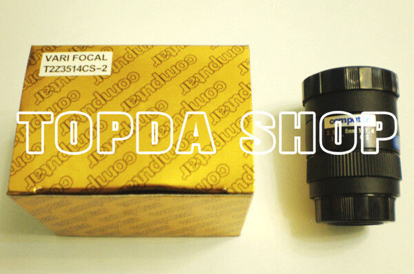 "1PC Computar T2Z3514CS-2 New 3.5-8MM 1/3"" CS F1.4 Manual aperture camera lens#SS"